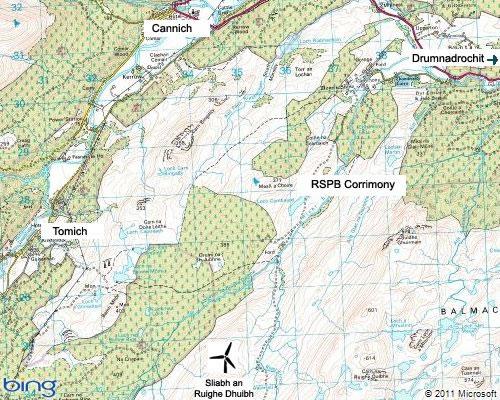 corrimony-map